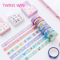 High quality japanese fancy stationery Assorted Designs Heat-Resistant colorful paper washi tape 15mm for decorative 592