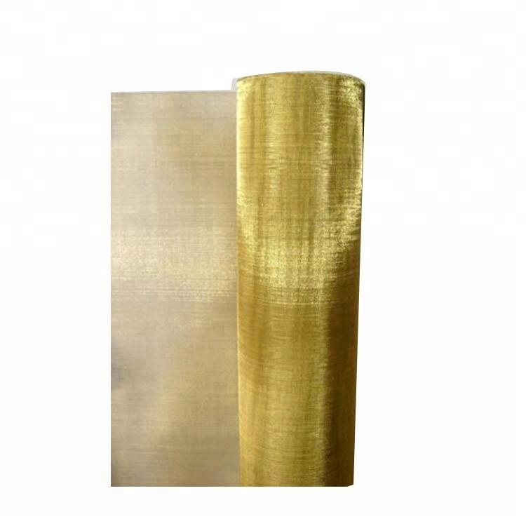 #20 30 40 50 60 70 90 100 brass screen wire mesh filter cloth