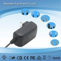 LVD Safety Standard 12W 12V 1A Class 2 Power Supply with CE UL DOE CEC ERP VI CUL FCC GS CB SAA Certification