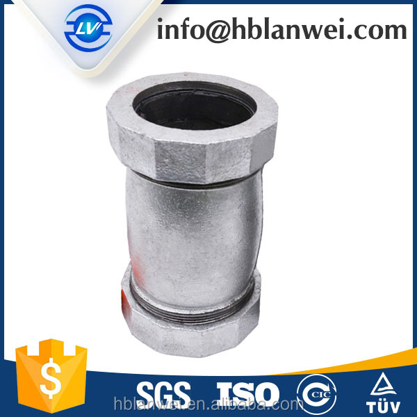 CHINESE MANUFACTURE M.I. PIPE FITTINGS JOHNSON COUPLINGS