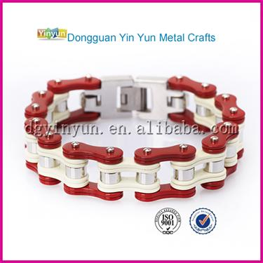 Great Design Motorcycle Bike Chain Bangle energy bracelet