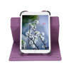 Multi-Angle Stand Leather Case with Soft Microfiber skin Colorful 360 rotating for 9.7'' to 10.1'' tablet case cover