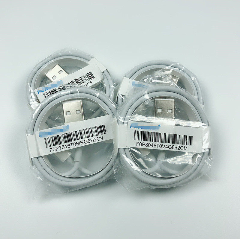 Original para apple iphone lightn de cable usb Foxconn cargador cable para iphone 5/6/7/8 x/MAX/XR/11