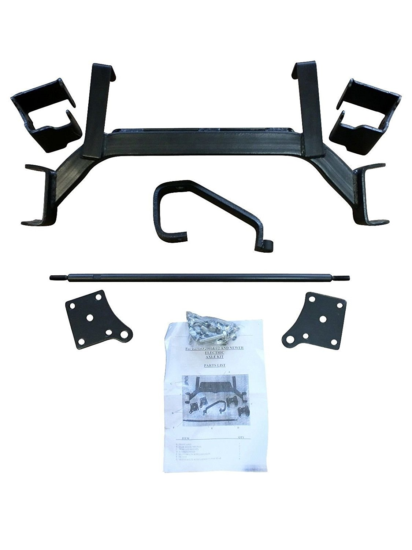 "6"" Drop Axle Lift Kits for EZGO Golf Cart 2001.5 - 2011 Electric TXT Model"