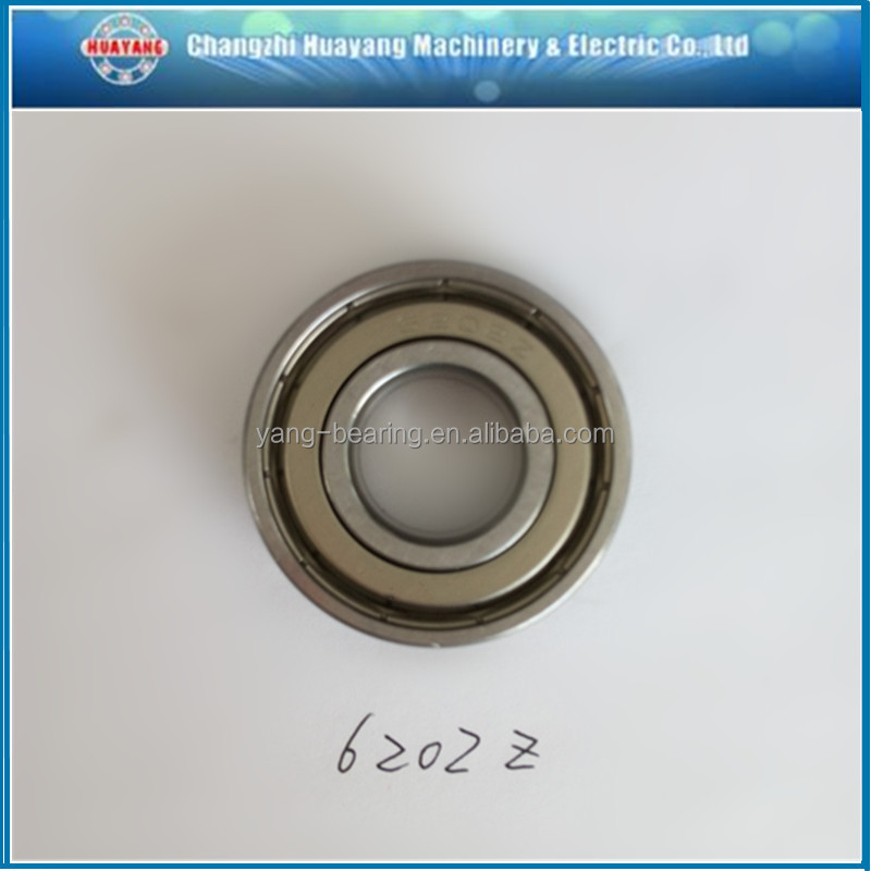 High Performance EMQ 6202zz Z3 Low noise Deep Groove Ball Bearing For Air conditioner motor,range hood and stepping motor