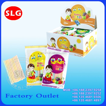 6g fruity straw CC stick candy
