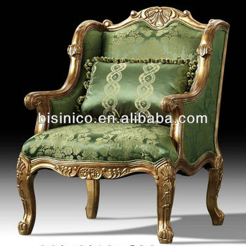 British Royal Furniture, Victorian Style Furniture-1 Seat Sofa/Wing Sofa  Chair,