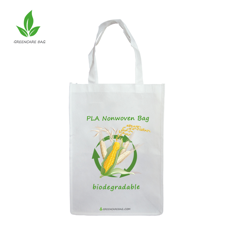 Nuovo materiale 100% Biodegradabile PLA Shopping Bag senza plastica