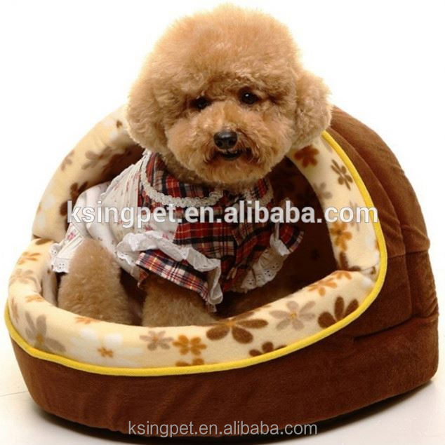 hooded dog bed
