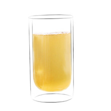 Yingchuang 12oz Hot selling double wall high borosilicate glass coffee/milk/beer/tea cup/Mug