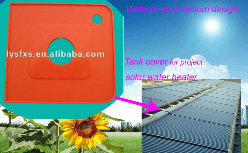 Terminal cover/Tank cover solar water heater parts SFRP-06-06
