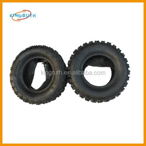 Made in china cheap scooter tire 4.10-6 black rubber