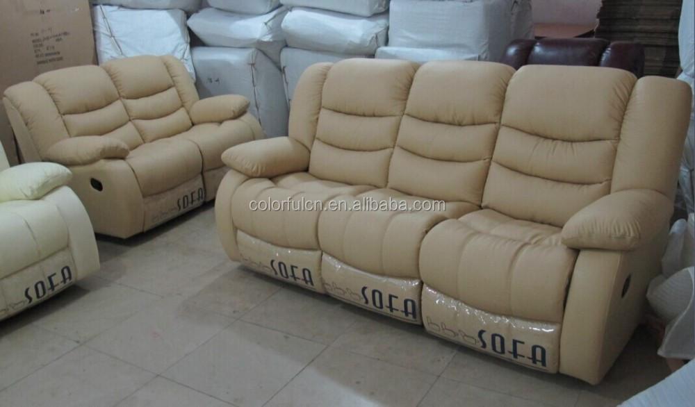 Reine italien echtem leder reclinersofa 1 2 3 ls630 handbuch liege wohnzimmer sofa produkt id Sofa aufblasbar