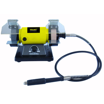 Magnificent Tolhit 75Mm 3 200W Hobby Mini Bench Grinding Machine Portable Electric Jewelers Bench Grinder With Flex Shaft Buy Jewelers Bench Grinder Flexible Dailytribune Chair Design For Home Dailytribuneorg