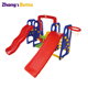 high quality outdoor play center toddler outdoor playground plastic combination slides