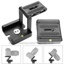 New Aluminum Portable Folding Camera Tripod Head Slider Z Desktop Stand Holder Flex Pan Tilt Ball Head for Canon Nikon Sony DSLR