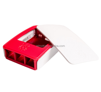 Raspberry Pi 3 case Official ABS enclosure Raspberry pi red and white
