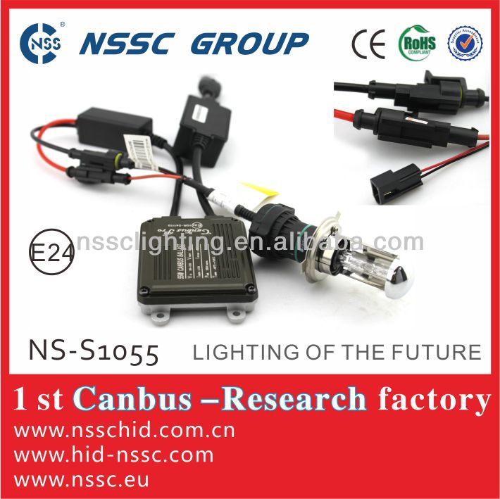 2014 NSSC hot sale slim 55w 9-16V xenon HID canbus car accessories with lower defect rate