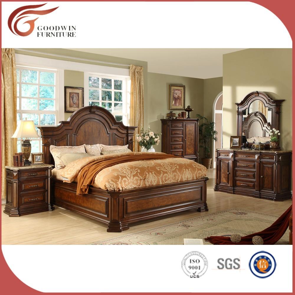 Muebles de dormitorio de lujo real precios WA149 WA148-Conjunto de ...