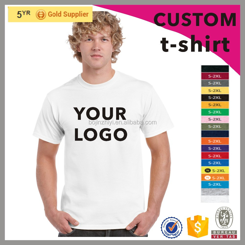 2016 wholesale custom mens cotton all over print t-shirt