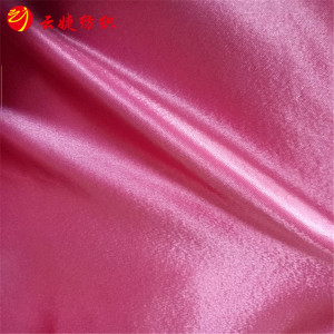 97%Polyester 3%Spandex 4 Way Stretch Shine Satin Fabric