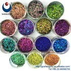 Good Chameleon Effect Irregular Flake Pearl Pigments New product 2018