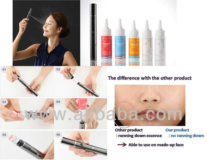Multi-functional nurishing moisturizing uv protection Air mist beauty device / facial mist