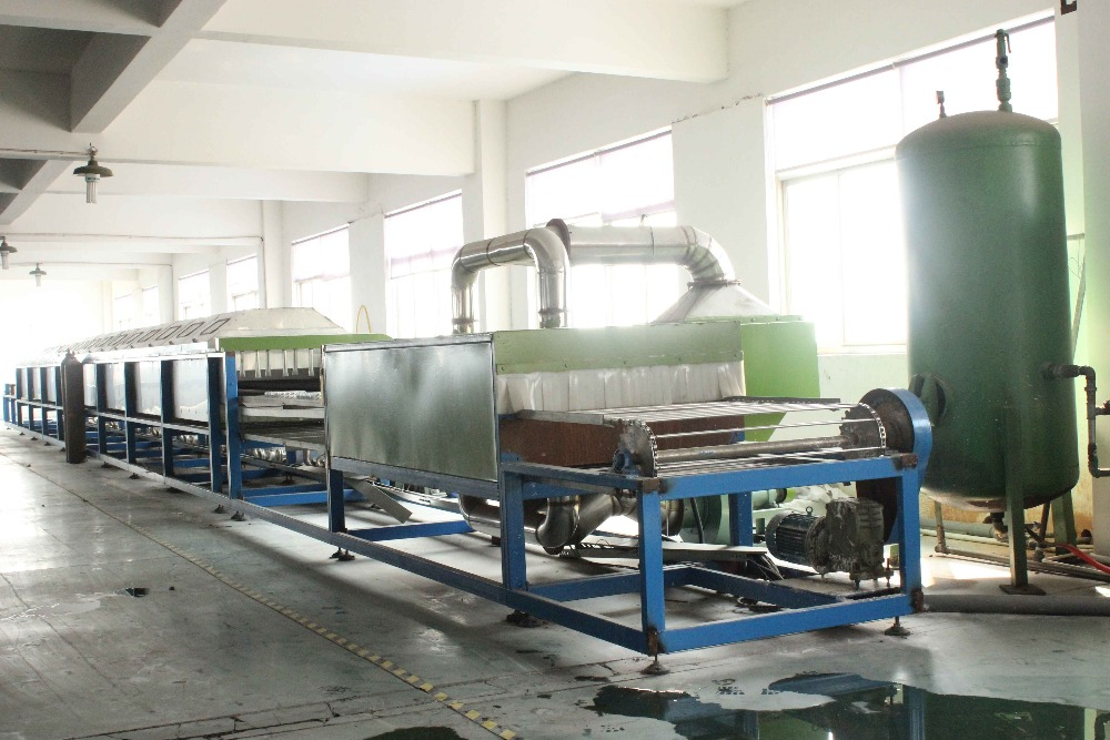 Four Row All Aluminum One Continues Tube Heat Exchanger Of