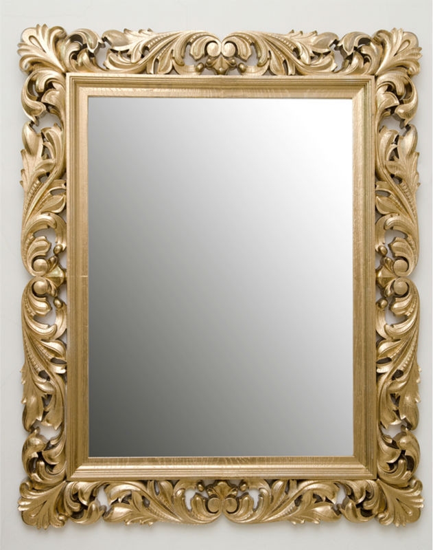 Carved And Gilded Wooden Frames - Buy Wood Carving Mirror Frame ...
