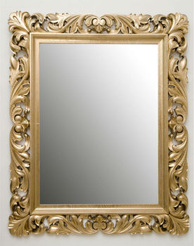 Carved And Gilded Wooden Frames   Buy Wood Carving Mirror Frame Product On  Alibaba.com