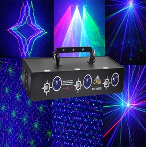 2017 hot sale moving head 6 head beam laser projector firefly laser light show system for dj disco party stage club