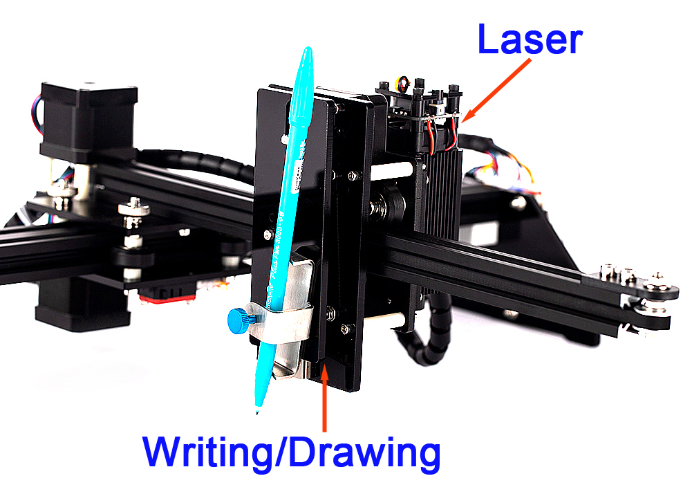 BACHIN Draw ST-2039 new product DIY pen drawing robot machine for lettering  writing plotter and laser engraving