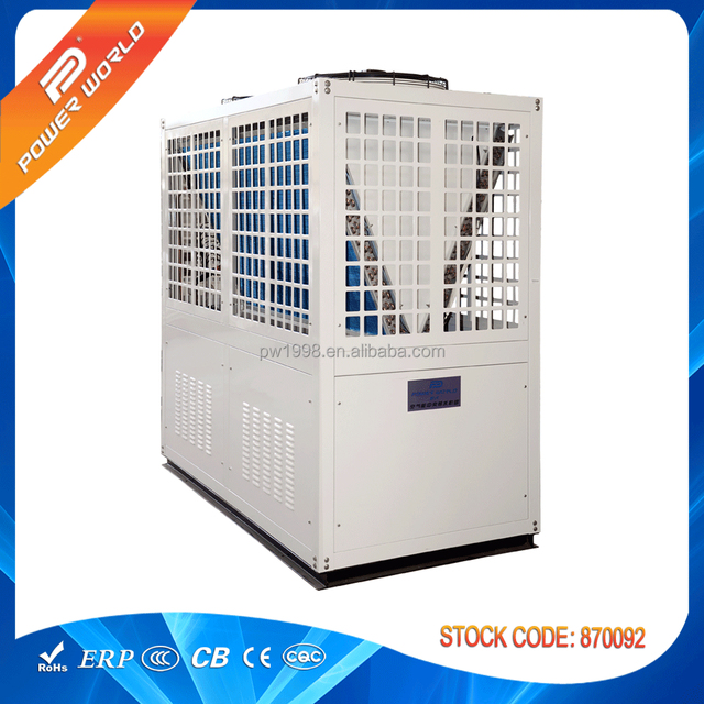 most efficient heating and cooling hot water heater air source heat pumps system for commercial hotel