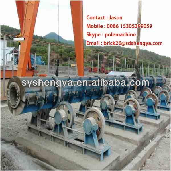Kenya,Ethiopia electric post making machine,Spinning Machine for  prestressed concrete poles, View electric post making machine, Product  Details from