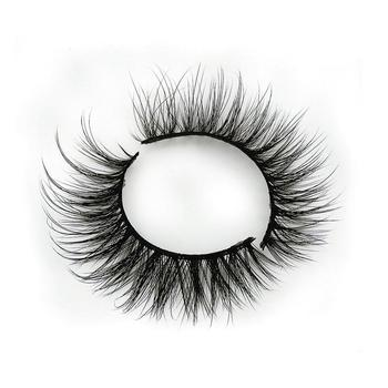 3d mink lashes self adhesive eyelashes