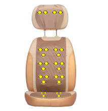 2015 deluxe massage chair cover shiatsu massage cushion neck and back Shiatsu Rolling Massage Pad Massage Chair Cushion