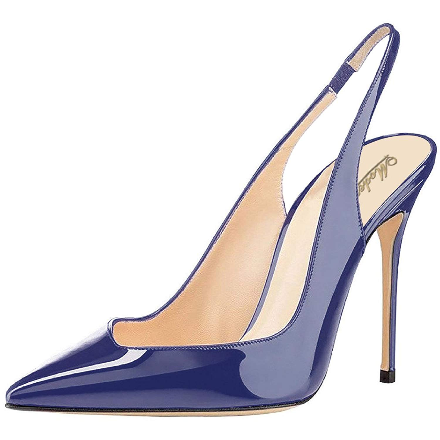dccb62ce80b Buy Modemoven Womens Patent Leather Pumps