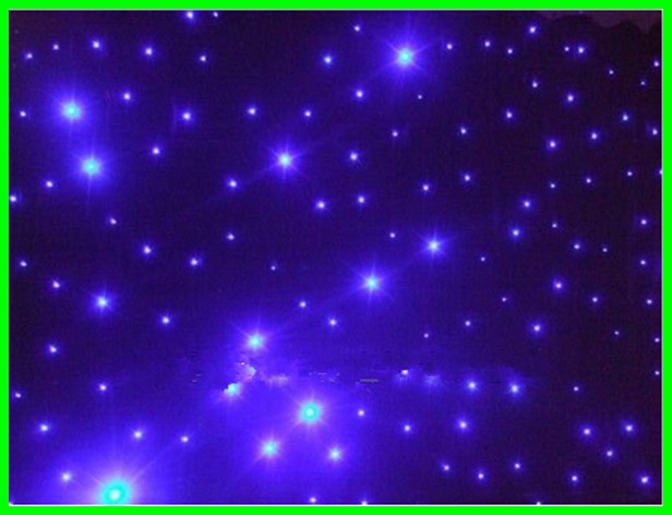 2015 Nice night event light curtain Blue led star curtain/CE RoHS Approval China RGB P10 LED Video Curtain/ led curtain display