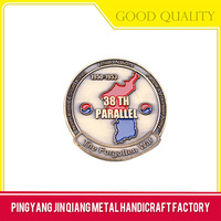 Art use good quality soft enamel army challenge coin