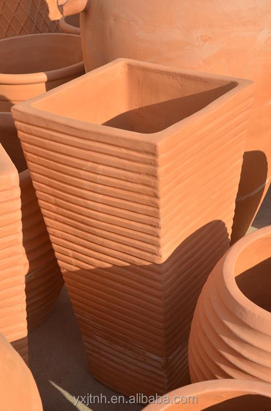 Grandi vasi in terracotta, vaso di fiori in cemento stampi per la vendita-Vaso di fiori ...