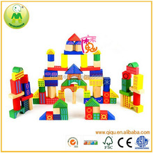 100pcs Printing Building Blocks For Children