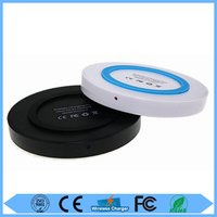 Universal portable phone battery wireless charger pad