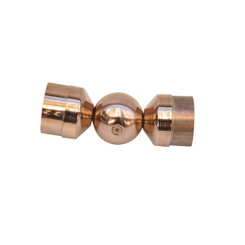 Color Stainless Steel water Pipe Fitting with two side connect
