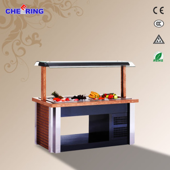 CE approved fruit salad bar best quality mini salad bar