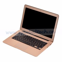 2016 New Notebook Computer! Fashion Design Super Slim 13.3 inch Fanless Wholesale Free OEM Service Laptop Computer 3y Warranty