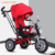 Made in china cheap high quality pink 3 air tire tyre cycle smart stroller pushchair folding baby trike for 6 month old