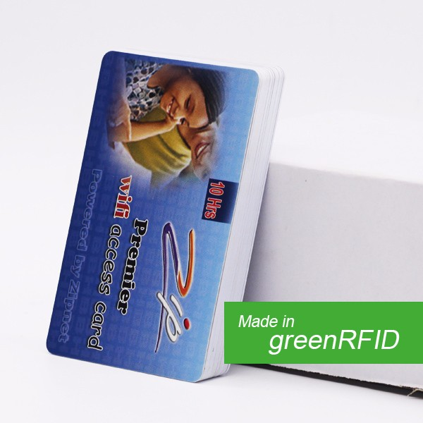 Prepaid Game Card with Barcode Scratch Off PVC Card on sale