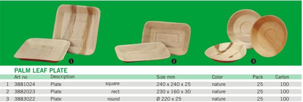 Square Acre Palm Leaf Plate Disposable cheap wooden leaf plates  sc 1 st  Alibaba & Square Acre Palm Leaf Plate Disposable Cheap Wooden Leaf Plates ...