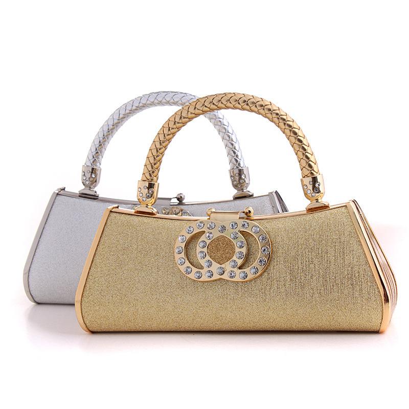 27f56e7e437e New arrival bags diamonds women handbags with golden color clutch evening  bags for princess vintage evening bag