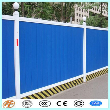 Colour Construction Temporary Corrugated Fencing In Dubai